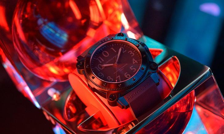 HAMILTON BeLOWZERO SPECIAL EDITION นาฬิการุ่นใหม่ออกแบบสำหรับภาพยนตร์ TENET