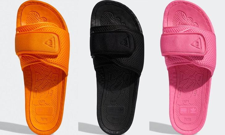 ฟาร์เรลล์ วิลเลียมส์ พลิกโฉม adilette สู่รองเท้าแตะพรีเมียม ความนุ่มสบายขั้นสุด