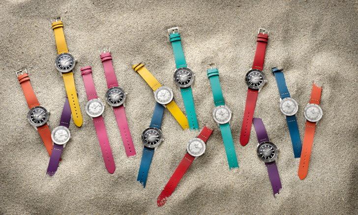 RADO เติมสีสันให้เวลา ด้วยสายนาฬิกาหนังแท้หลากสีของรุ่น Captain Cook
