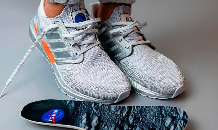adidas UltraBOOST 2020 x NASA เฉลิมฉลองภารกิจเหยียบพื้นดวงจันทร์ได้สำเร็จ