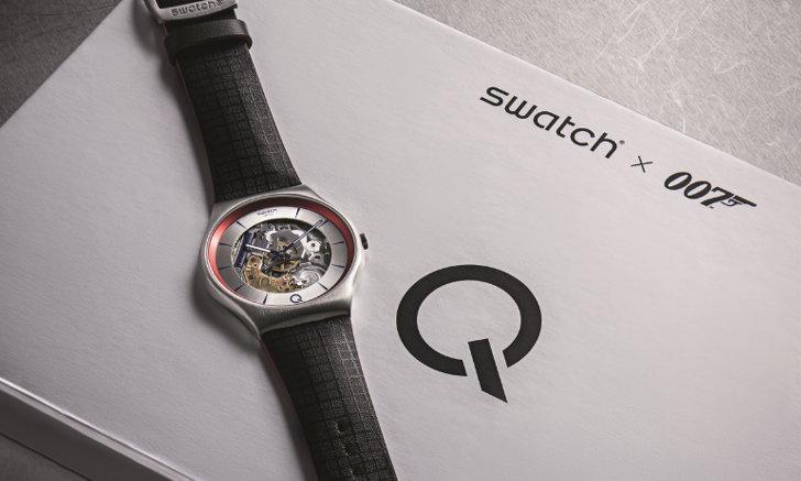 ร่วมภารกิจอีกครั้ง กับ Swatch รุ่นล่าสุด ²Q ผ่านภาพยนตร์ฟอร์มยักษ์ 007 No Time To Die