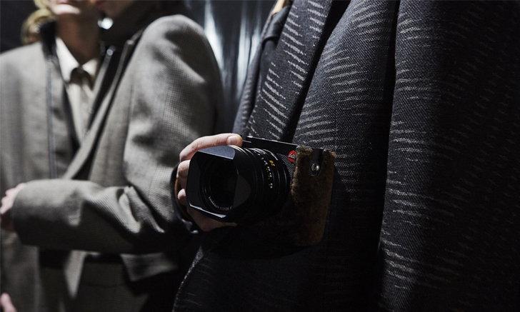 Ermenegildo Zegna ร่วมมือ Leica นำเสนอไอเทมประจำคอลเลคชั่นฤดูใบไม้ร่วง/ฤดูหนาว 2020