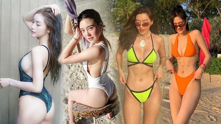 รวม 7 สาวหมวยสุดเซ็กซี่ ต้อนรับปีใหม่จีน