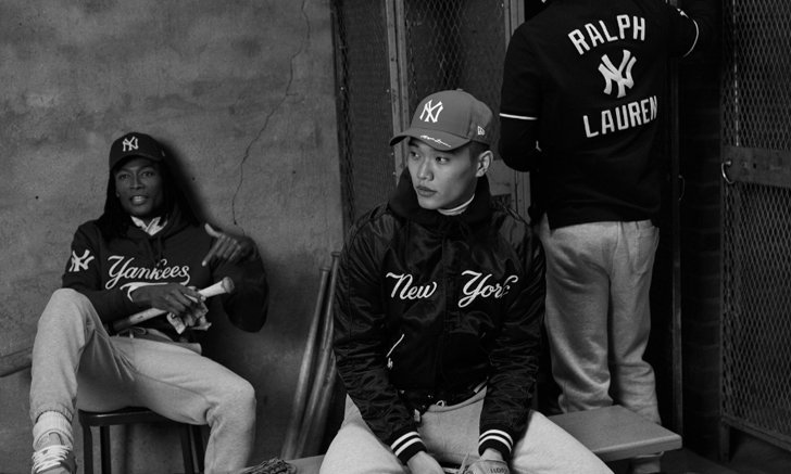 RALPH LAUREN X MLB การร่วมมือครั้งใหม่กับสโมสรเบสบอลระดับเมเจอร์ลีก