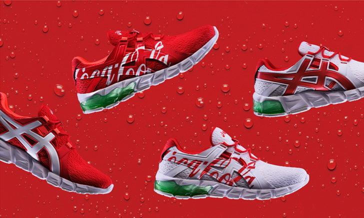 การคอลแลปส์แห่งปีจากสองแบรนด์ ASICS x Coca-cola กับสนีกเกอร์ 2 สุดพิเศษ