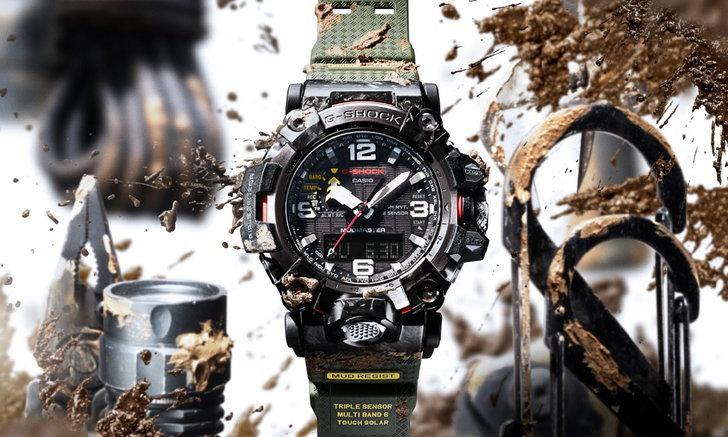 คาสิโอ เผยโฉมนาฬิกา 5 รุ่นใหม่ ตอกย้ำความแข็งแกร่งตามแบบฉบับของ G-SHOCK