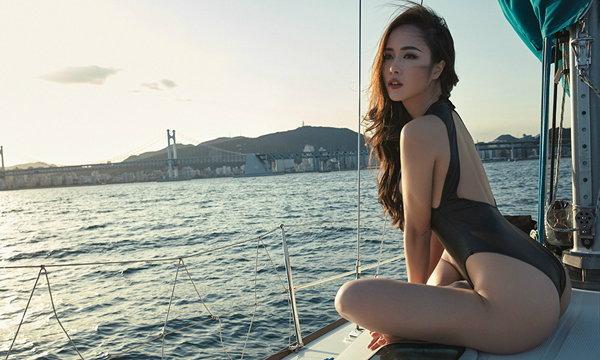 """เซ็กซี่ไปทั้งตัว """"หวูหง็อกแอน"""" นางฟ้าแสนสวยจากเวียดนาม"""