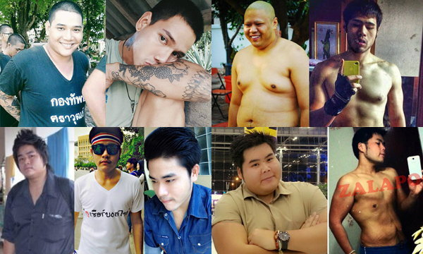 โอ้โห 5 หนุ่มลดความอ้วน จนเปลี่ยนไปเหมือนคนละคน