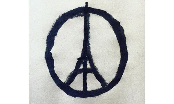 """รู้จัก """"Jean Jullien"""" ผู้วาดภาพ """"Peace For Paris"""" ที่ถูกแชร์กระฉ่อนโซเชียล"""