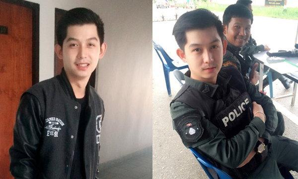 หล่อใสระดับ HD เจเจตำรวจหล่อที่ดังที่สุดในโลกโซเชียล