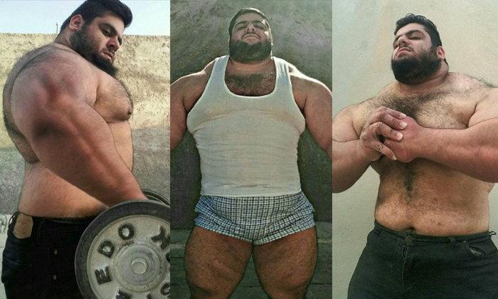 รู้จัก Sajad Gharibi เจ้าของฉายา Hulkแห่งอิหร่าน