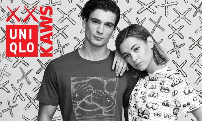เสื้อยืด KAWS Collection สุดฮิตจากยูนิโคล่