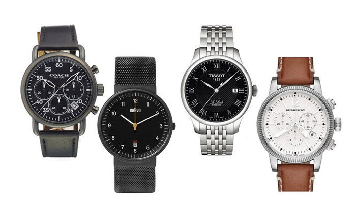 นาฬิกาผู้ชาย 18 รุ่น สุดคุ้ม ในราคาไม่เกิน 500 ดอลล่าร์สหรัฐ