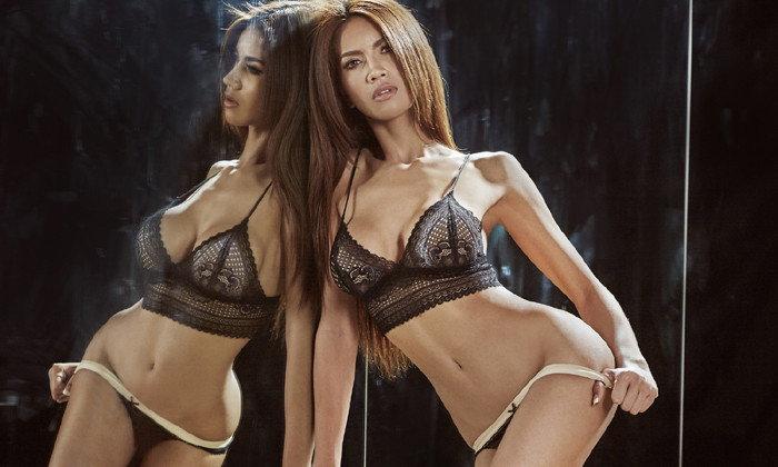 รุนแรงเหลือเกิน! บันนี่เฟื่องฟ้า สาวหน้าคมสุดเอ็กซ์จาก Playboy