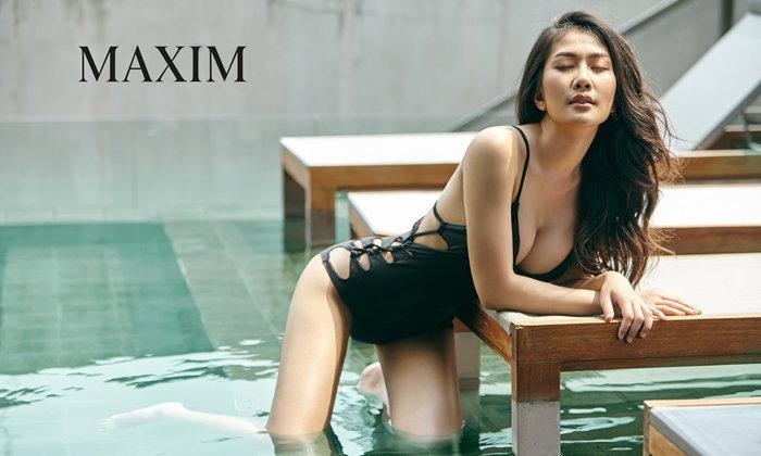 สวยจนต้องมอง แป้ง จุฬาลักษณ์ สาวเซ็กซี่จาก MAXIM