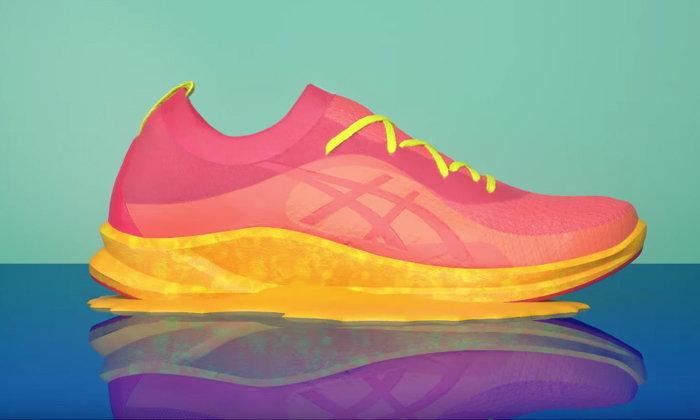 Asics พัฒนาเทคโนโลยีสร้างรองเท้าจากเตาไมโครเวฟ