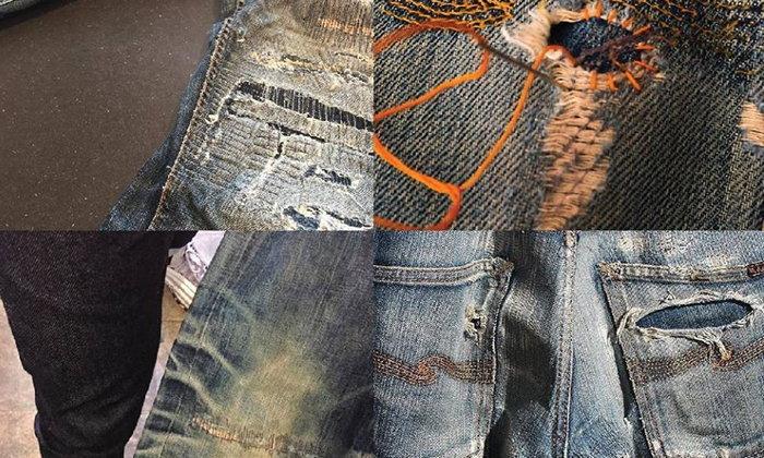 Nudie Jeans เปิด Repair Shop ซ่อมกางเกงยีนส์ฟรีแล้วในไทย
