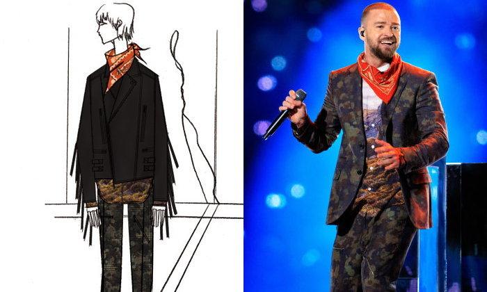 เจาะชุด Justin Timberlake ในงาน Super Bowl
