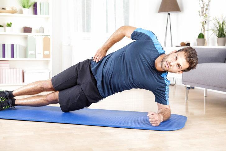 sideplanking