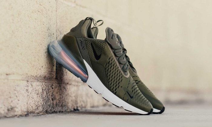 Nike เติมสีใหม่ Medium Olive เสริมทัพรองเท้าซีรีส์ Nike Air Max 270