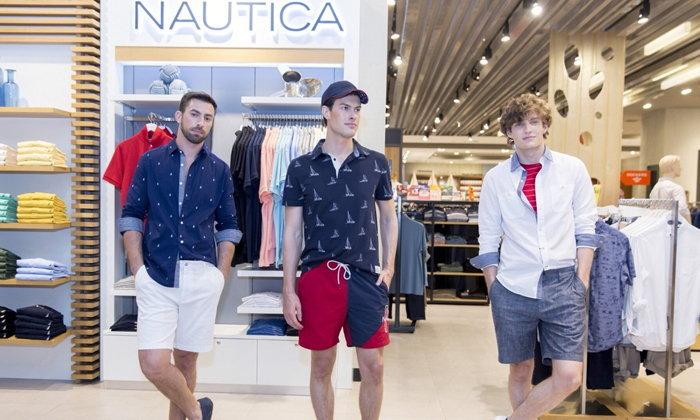 นอติก้า (Nautica) สปอร์ตแวร์ สำหรับฤดูใบไม้ผลิ 2018