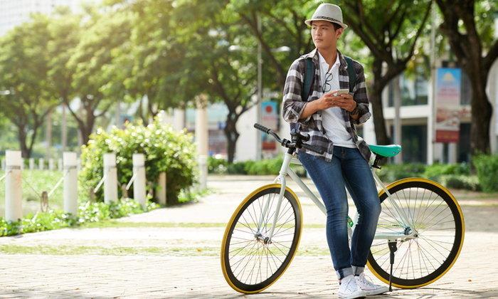 หุ่นดีด้วยการขี่จักรยาน