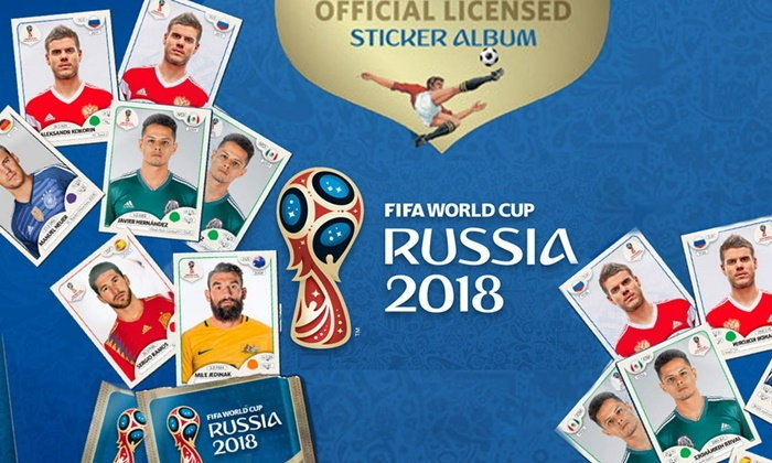 Panini เปิดตัวสติ๊กเกอร์การ์ดนักฟุตบอลคอลเลคชันใหม่ ต้อนรับปีแห่งฟุตบอลโลก 2018