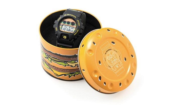 McDonald ฉลองครบ 50 ปีเบอร์เกอร์ Big Mac ผลิตนาฬิการุ่นพิเศษโดย G-Shock