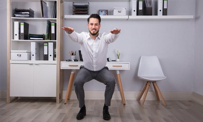 5 วิธีเผาผลาญไขมันในที่ทำงาน