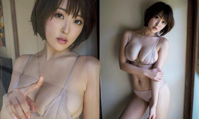 """ต้นแบบผมสั้นแต่เซ็กซี่ """"Oshino Sara"""" กราเวียร์หุ่นแซบของวงการ"""