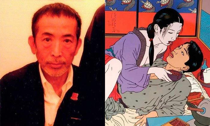 """""""โทชิโอะ ซาเอกิ"""" เจ้าพ่อภาพเขียนอีโรติกแห่งญี่ปุ่น"""