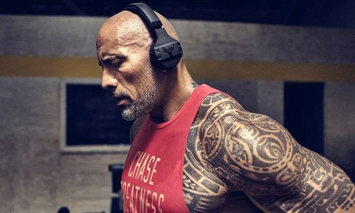 ใช้เวลากว่า 2 ปี The Rock เปิดตัว UA Sport Wireless หูฟังสำหรับออกกำลังกายโดยเฉพาะ