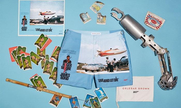 Orlebar Brown ส่งกางเกงว่ายน้ำคอลเลคชันพิเศษเอาใจแฟนคลับ James Bond 007