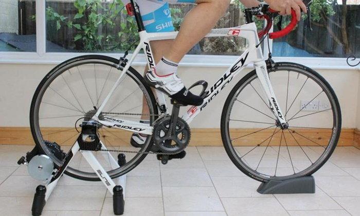 ปั่นจักรยานแบบไม่กลัวฝนง่ายๆ ด้วย Indoor Cycling Trainer