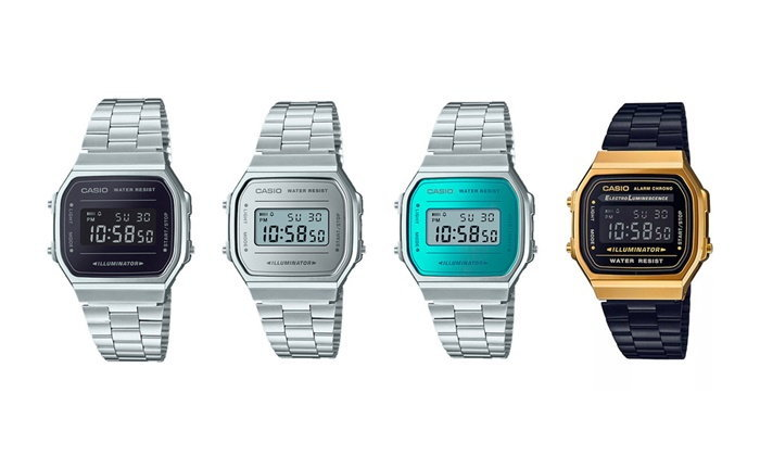 "Casio ชวนย้อนวันวาน ส่งนาฬิการุ่นเก๋า ""Vintage Collection"" วางจำหน่าย"