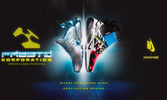 การกลับมาอีกครั้งของ Nike Air Presto Mid X ACRONYM®