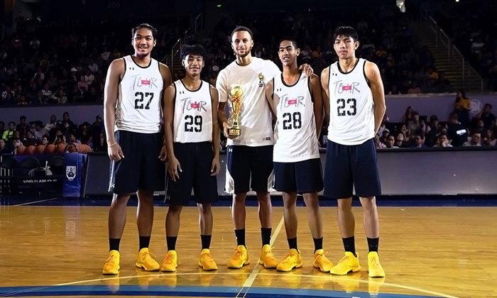 สตีเฟ่น เคอร์รี่ จับมือ อันเดอร์ อาร์เมอร์ พบปะแฟนๆ ในเอเชีย พร้อมเปิดตัวรองเท้า Curry 5 สี