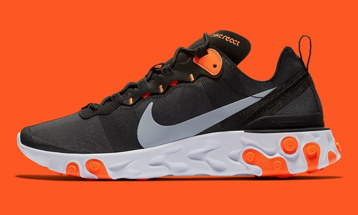 "Nike React Element 55 ""Halloween"" รองเท้าไลฟ์สไตล์จาก Nike ชูความนุ่ม เบา สบาย"