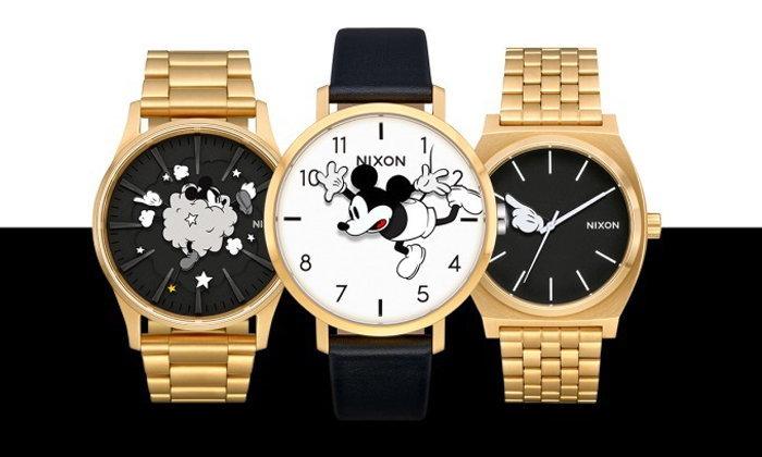 NIXON ส่งนาฬิกาสุดลิมิเต็ดฉลองครบรอบ Mickey Mouse 90 ปี