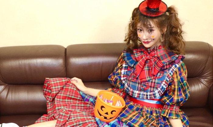 """รับฮาโลวีน """"Asuka Kirara"""" ดาราเอวีแปลงกายเป็นตุ๊กตาโกธิค"""