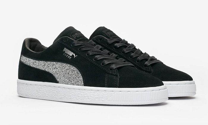 Puma Suede Classic รองเท้าผ้าใบประดับคริสตัล Swarovski