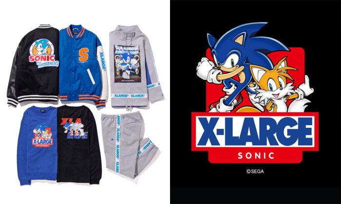 Xlarge x Sonic the Hedgehog คอลเลคชั่นสุดพิเศษน่าสะสม