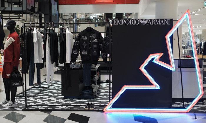 Emporio Armani เปิดป๊อปอัพสโตร์แห่งใหม่ ณ Siam Discovery