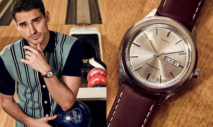 Timex + Todd Snyder Mid Century นาฬิกาสไตล์วินเทจยุค 50