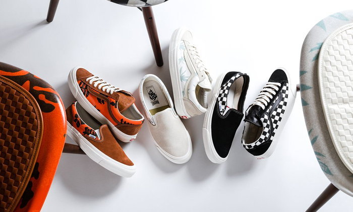 Modernica x Vans Vault กับการร่วมมือกันครั้งแรกของแบรนด์เฟอร์นิเจอร์และรองเท้า