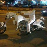 รถมอเตอร์ไซค์แรงม้า!