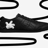 สีดำของ Mickey Mouse