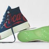 Kith x Coca-Cola และ Converse สีน้ำเงิน
