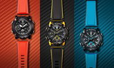 G-Shock GA-2000 นาฬิกาเปลี่ยนสายได้ แข็งแกร่งด้วยแกนกลางคาร์บอน