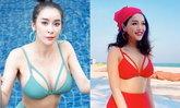 แอร์-ภัณฑิลา โพสต์ภาพชุดว่ายน้ำ บอกทำไมช่างต่างกันขนาดนี้